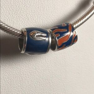 Jewelry - S925 Sterling Silver Florida Gators Charm Set